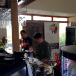 Školení personálu, tvorba menu, zkouška koktejlů, River Café