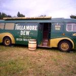 Degustace portfolia Tullamore DEW v jejich speciálním autobuse