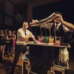 Tandem bartender show