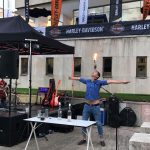 Barman show pro Harley Davidson