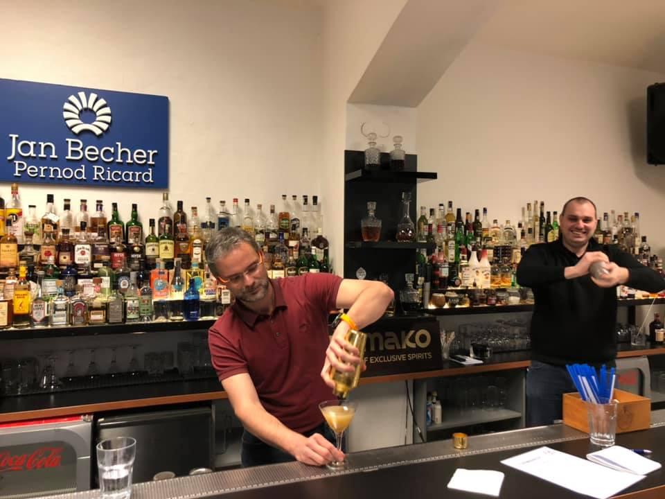 1denni barmanský kurz Česká Barmanská Škola